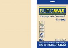 Набор офисной цветной бумаги Buromax Pastel А4 80 г/м2 Кремовой 20 листов (BM.2721220E-49)