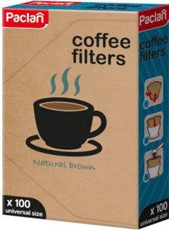 Фильтры для кофе Paclan №4 100 шт (5900942304004)