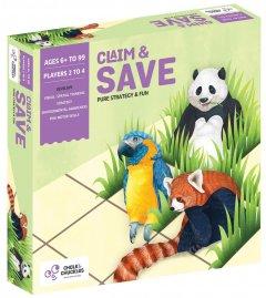 Настольная игра для детей Chalk & Chuckles Claim & Save (CCPPL033) (8906045560337)