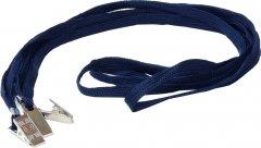 Набор шнурков для бейджей Agent D002 50 шт Темно-синий (6927920171075)
