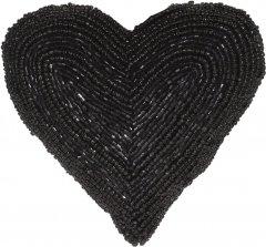 Елочная игрушка Christmas Decoration Heart 13.5x13x5 см Black (A04427810_heart)