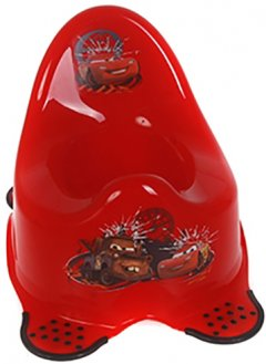 Детский горшок Keeeper Deluxe Сагѕ Красный (8674)