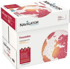 Набор бумаги офисной Navigator Presentation A4 100 г/м2 класс A 2500 листов Белой (5602024530249)