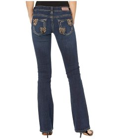 Джинси Rock and Roll Cowgirl Rival Low Rise Bootcut in Dark Vintage W6-2546 Dark Vintage, 29W 32L (10882859)