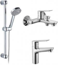 Набор смесителей для ванны IMPRESE 3 в 1 30090