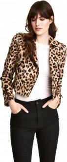 Куртка H&M 0491601 40 Леопардова (9990000012404_6666000072948)