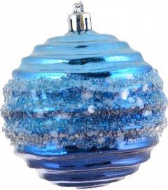 Елочный шар Новогодько (YES! Fun) Морская тайна 8 см Голубой (972858) (5056137109319)