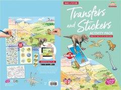 Набор переводных наклеек Scribble Down с онлайн приложением Динозавры (SD/22) (5060248270240)
