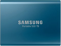 Samsung Portable SSD T5 500GB USB 3.1 Type-C V-NAND TLC (MU-PA500B/WW) External