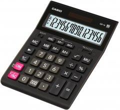 Калькулятор Casio 16 разрядный 155х210х34.5 (GR-16-W-EP)