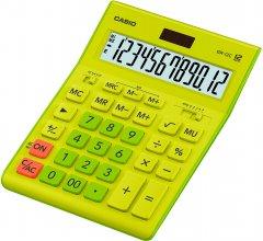Калькулятор Casio 12 разрядный 155х209х34.5 Зеленый (GR-12C-GN-W-EP)