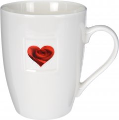Чашка Excellent Houseware 350 мл (Q75900040_heart_rose)