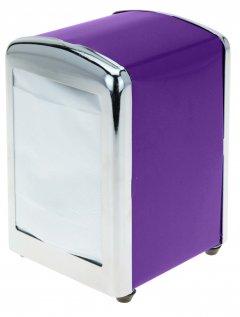 Подставка для салфеток Excellent Houseware 9.5 x 10 x 14.5 см (C37562340_violet)