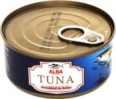 Тунец в собственном соку Alba Food Салатный 150 г (8852111028044)