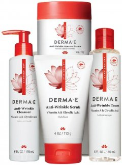 Программа по уходу Anti-wrinkle Derma E линия против морщин с витамином А (030985480040)