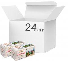 Упаковка черного пакетированного чая Azercay с чабрецом 24 пачки по 25 пакетиков (24760062104213)