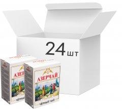 Упаковка черного среднелистового чая Azercay с чабрецом 24 пачки по 100 г (54760062104213)