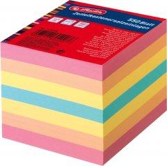 Бумага для заметок Herlitz 90х90 мм 550 листов не склеенная Цветная (1604008)