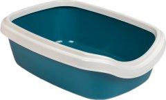 Туалет для котов Природа Comfort M 41 х 30 х 13 см Ультрамарин (4823082417384)