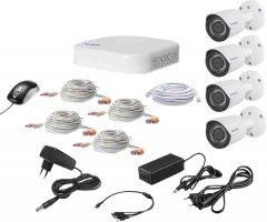Комплект видеонаблюдения Tecsar QHD 2MP4CAM (000012016)