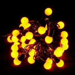 Светодиодная гирлянда VENOM Шарики 40LED Желтая (LS-CONE-40LED-BC-Y)