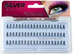 Пучковые ресницы Avenir Cosmetics Silver Style Mix Черные (8802541302405)