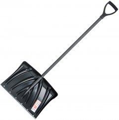 Лопата для уборки снега Intertool 50.5 x 34 см с ручкой 96 см (FT-2022)