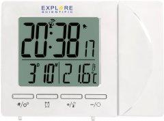 Проекционные часы Explore Scientific Projection RC Alarm White (RDP1001GYELC2)
