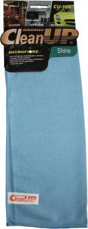 Салфетка из микрофибры универсальная CleanUP 30x40см CU-106 1 шт в уп. 5 комплектов (km79681)