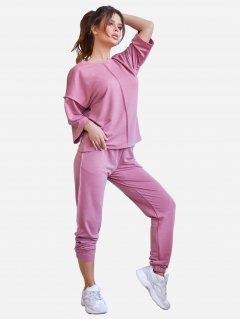 Спортивный костюм ISSA PLUS 11970 S Розовый (issa2000325692537)