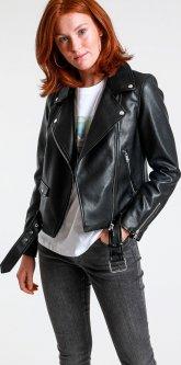 Куртка зі штучної шкіри Pimkie 323381160-60 XS Чорна (32338116000)
