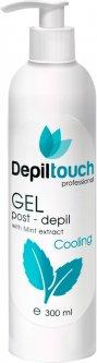 Гель после депиляции Depiltouch Professional охлаждающий с экстрактом мяты 300 мл (4640028990097)