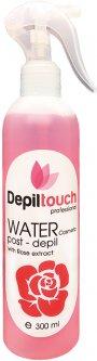 Вода косметическая Depiltouch Professional успокаивающая с экстрактом розы 300 мл (4630010607768)