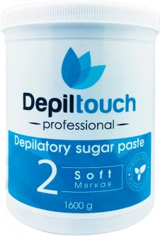 Сахарная паста для депиляции Depiltouch Professional мягкая 1600 г (4630010605672)