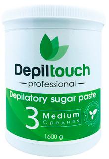 Сахарная паста для депиляции Depiltouch Professional средняя 1600 г (4630010605689)