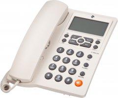 Проводной телефон 2E AP-410W White (680051628714)