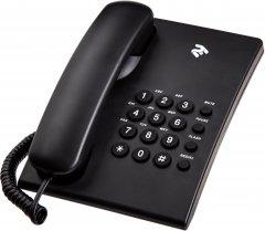 Проводной телефон 2E AP-210B Black (680051628745)