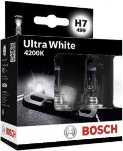 Автолампа Bosch Ultra White 4200K H7 2 шт (1 987 301 182)