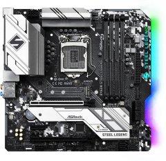 Материнская плата ASRock B460M Steel Legend (s1200, Intel B460, PCI-Ex16)