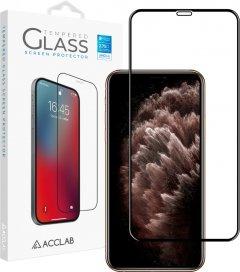 Защитное стекло ACCLAB Full Glue для Apple iPhone XS Max/11 Pro Max Black (1283126508202)