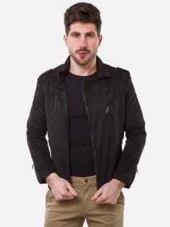 Куртка из искусственной замши Remix 2560 M Черная (2950006499491)