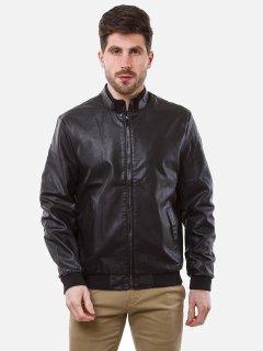 Куртка из искусственной кожи Remix 7865 4XL Черная (2950006373456)