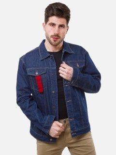 Джинсовая куртка Remix Y302 M Темно-синяя (2950006517614)
