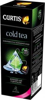 Чай холодный зеленый с цитрусом Curtis Cold Tea with Citrus 15 пирамидок (4823063708173)