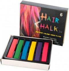 Набор мелков для волос Hair chalk 6 шт (2000992392099)