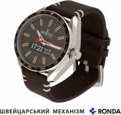 Смарт-часы Atrix Infinitys X10 45mm Swiss Classic Chrono Gold-Brown (swwpaii1sccgb)