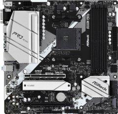 Материнская плата ASRock B550M Pro4 (sAM4, AMD B550, PCI-Ex16)