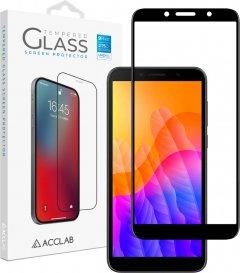 Защитное стекло ACCLAB Full Glue для Huawei Y5p Black (1283126508295)