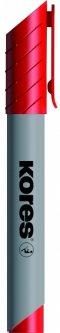 Набор маркеров для флипчартов Kores XF1 1-3 мм Красный 12 шт (K21307)