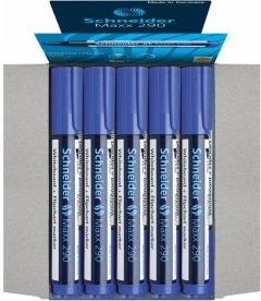 Набор маркеров для досок и флипчартов Schneider Maxx 290 1-3 мм Синий 10 шт (S129003)